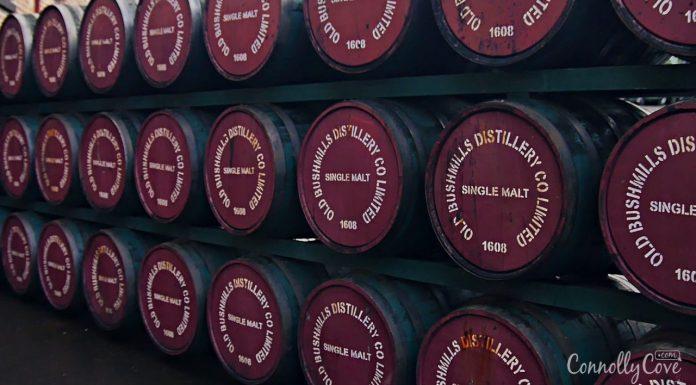 Bushmills Whiskey distillery