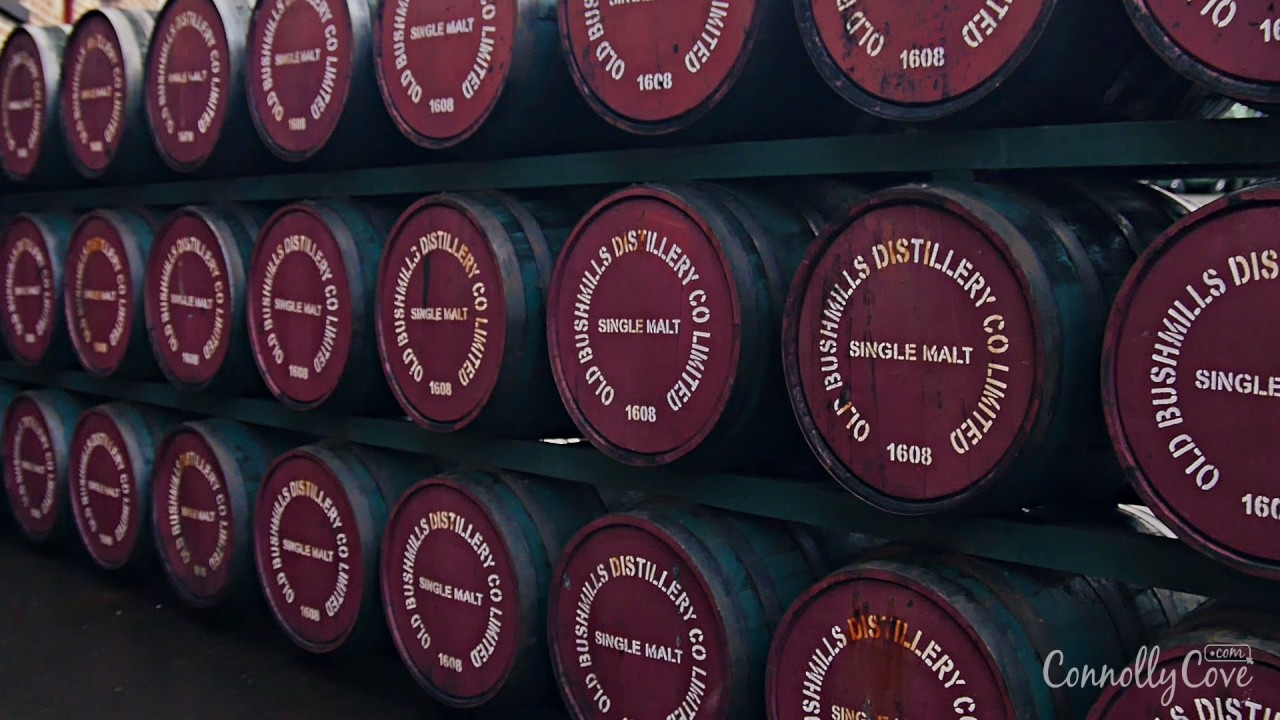 BUSHMILLS DISTILLERY - Founded in 1784 - Bushmills County Antrim, NI - Oldest Irish Whiskey