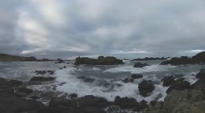 360 degree video of Ballintoy Harbour