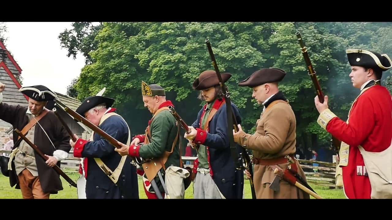 4th of July Independence Day at Ulster American Folk Park, Omagh, County Tyrone - Northern Ireland