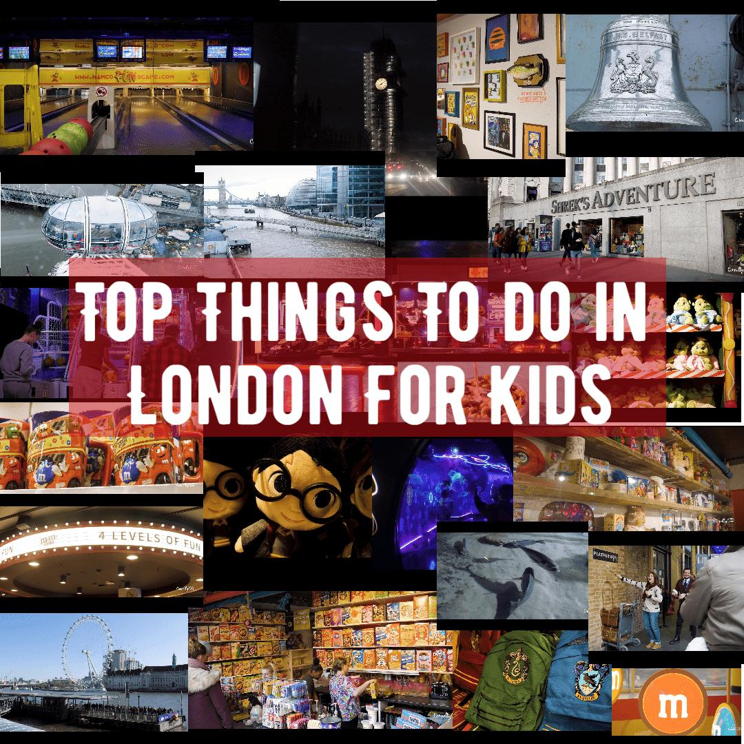 Top Ten Things To Do in London For Kids