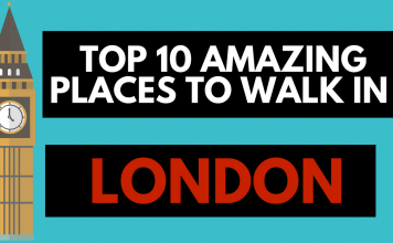Places to walk in London