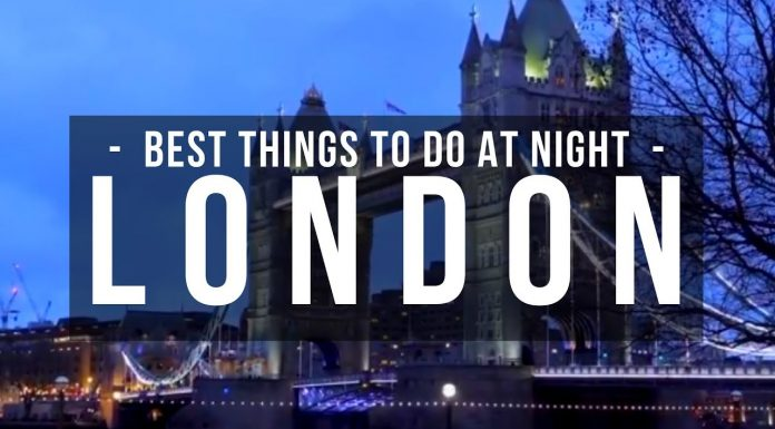 Best Things to do in London at Night