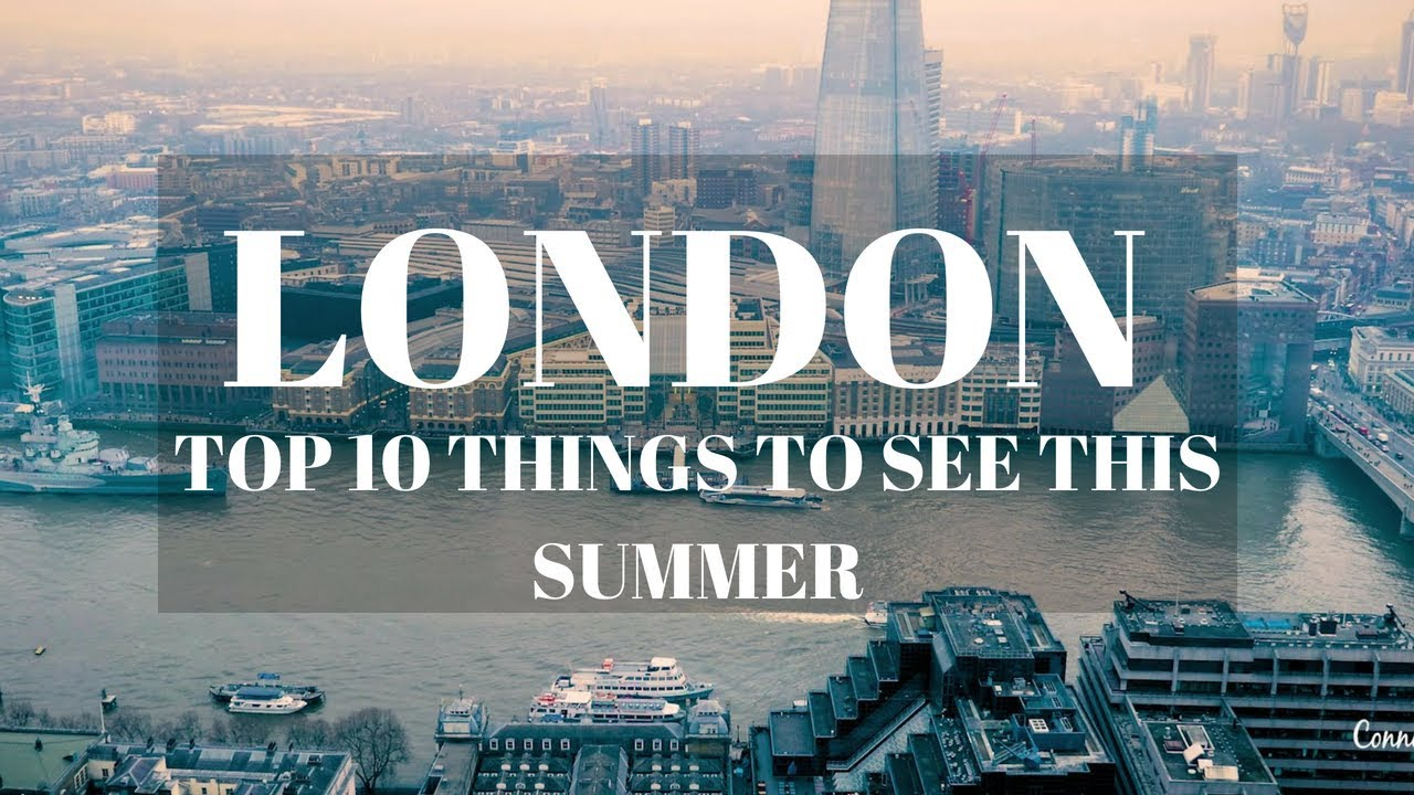 london this summer