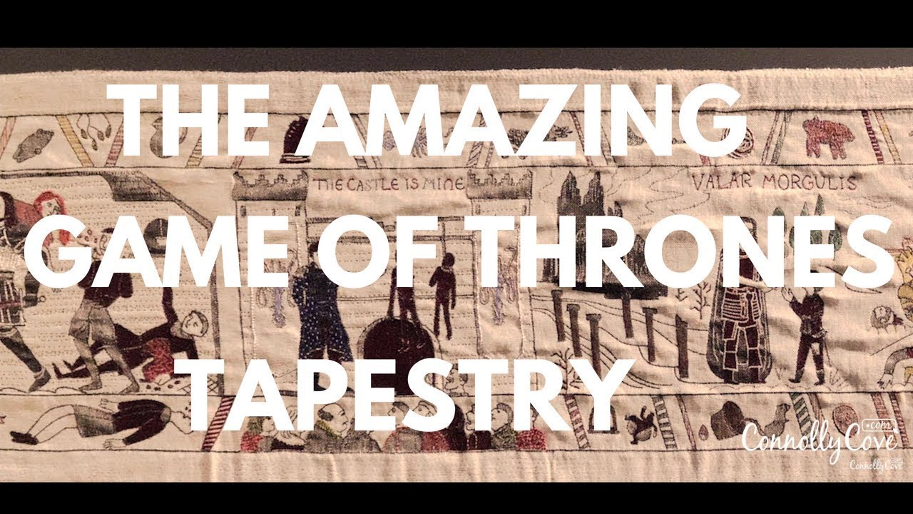 The Amazing Game Of Thrones Tapestry - Full Tapestry - Game Of Thrones attractions -Northern Ireland