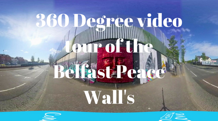tour of the peace wall