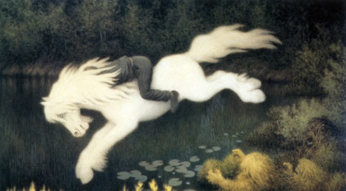 A Kelpie - The Myth of Pookas