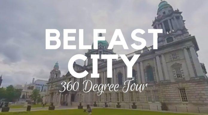 360 video tour of Belfast city