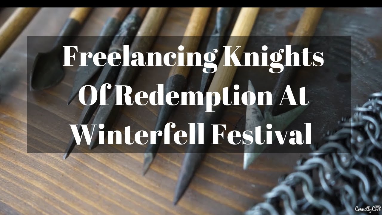 Freelancing Knights Of Redemption At The Winterfell festival - Castle Ward - Northern Ireland