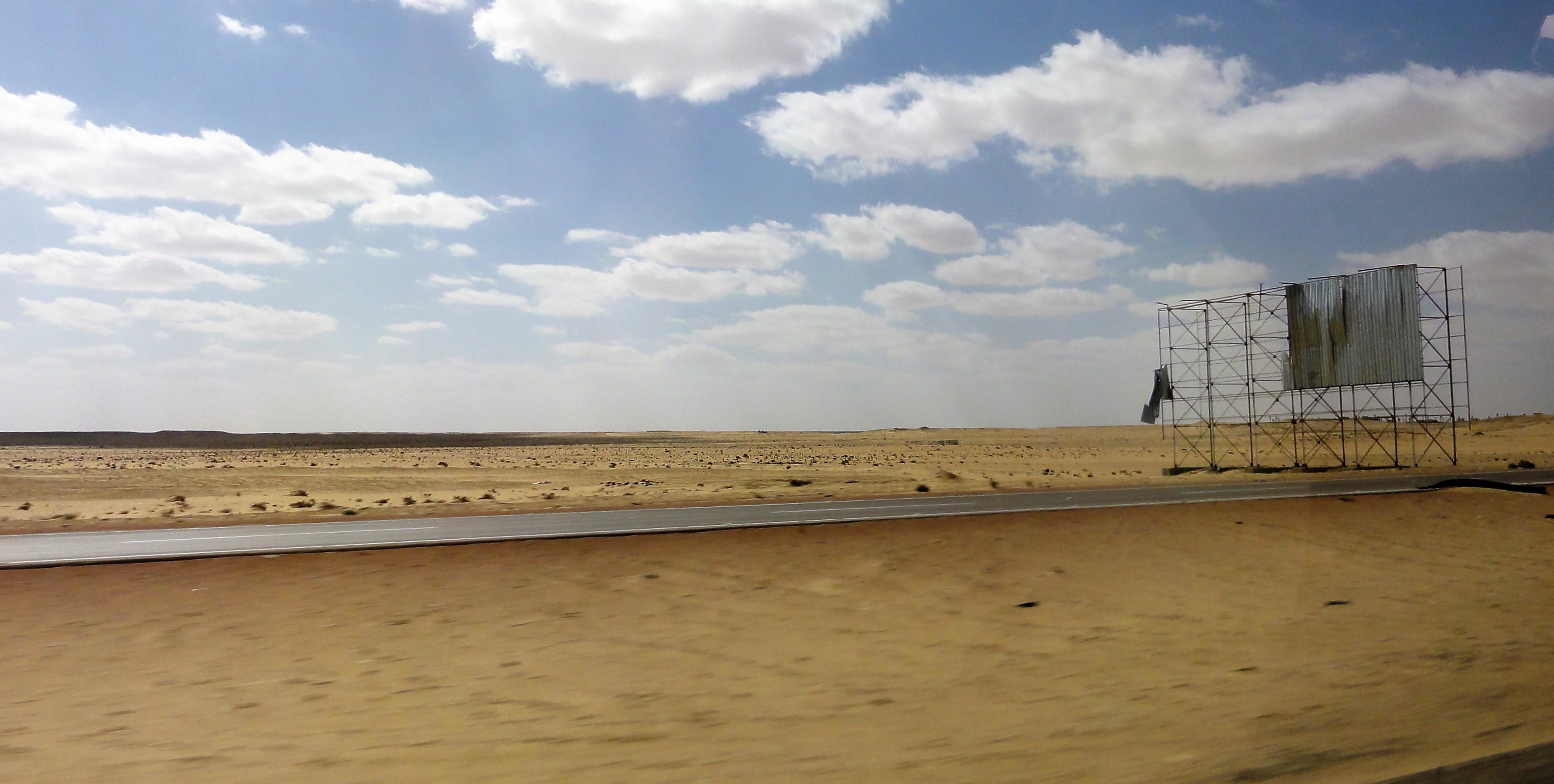 Al Alamein Road, Egypt
