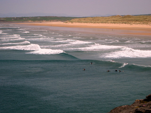 Bundoran Surfing