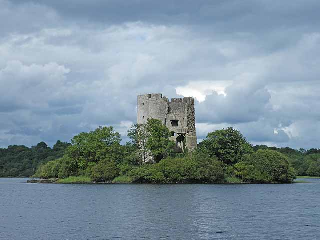 Clough Oughter Castle, County Cavan