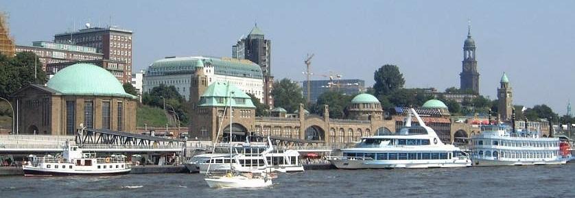 Landungsbrücken image for Top Things To Do in Hamburg blog