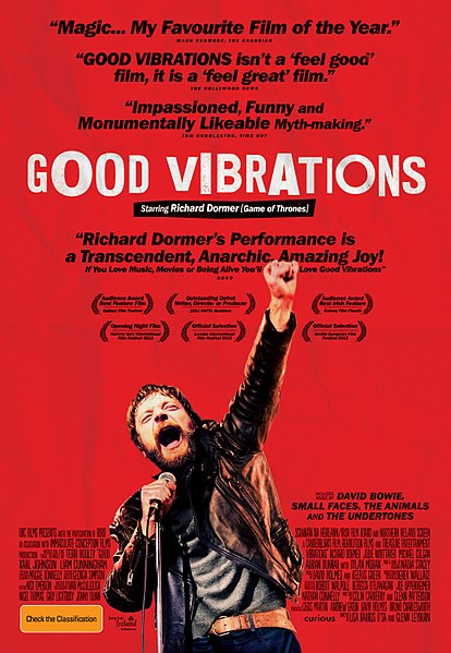 Good Vibrations poster for Good Vibrations Belfast blog