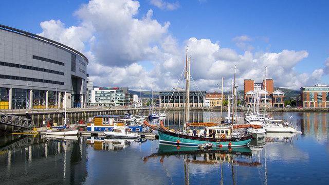 Belfast Marina Harbour - History of Belfast