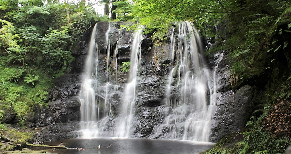 Glenariff Falls - Famous Landmarks in Ireland