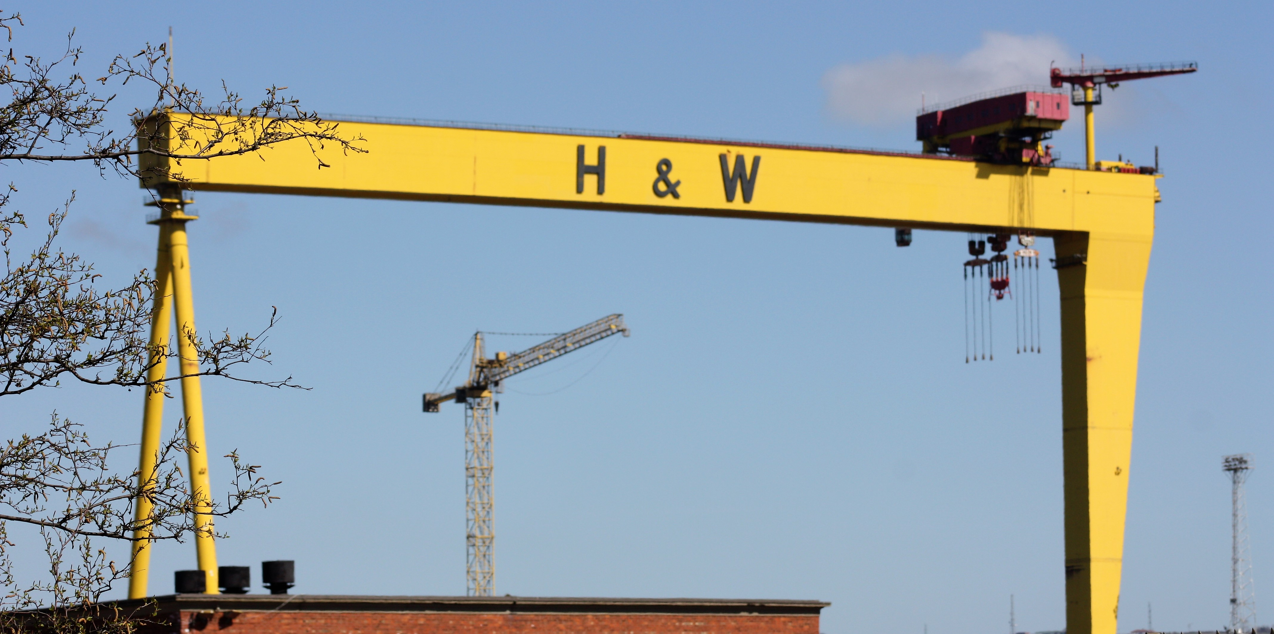 Harland and Wolff Cranes - History of Belfast