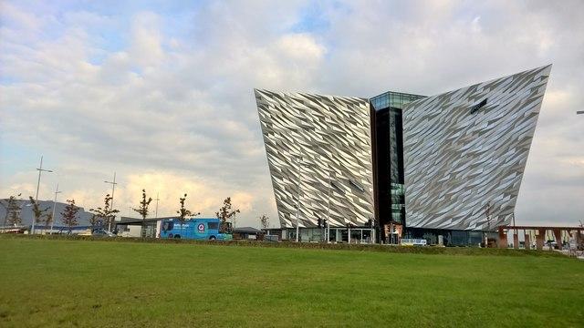 Titanic Museum Belfast - Christmas in Belfast