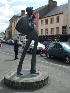 W.B Yeats Statue Sligo