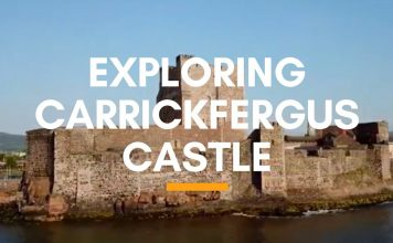 Exploring Carrickfergus Castle
