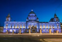 City Hall at Night- Belfast Travel Guide
