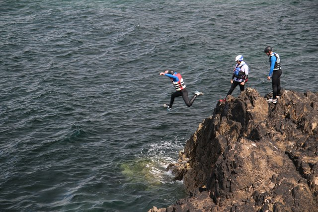 Coasteering County Mayo