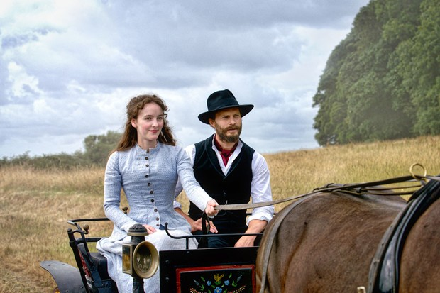 Death and Nightingales Filming at Springhill