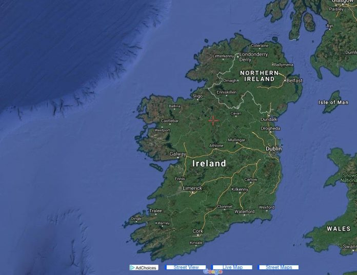 Live Map of Ireland
