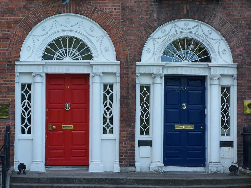 Unique Dublin Doors - Dublin Travel Guide