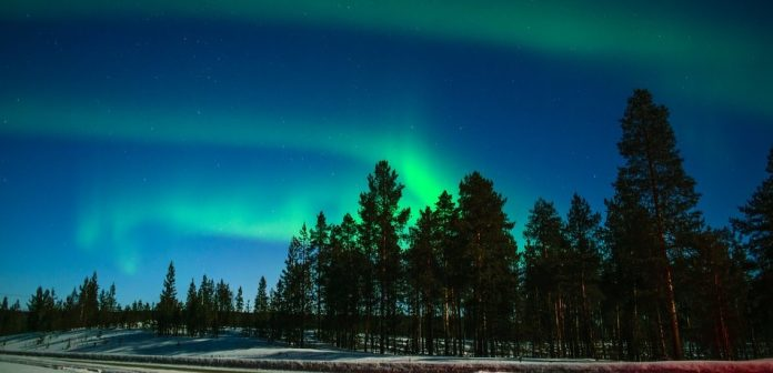 Natural wonders in Europe - Northern Lights