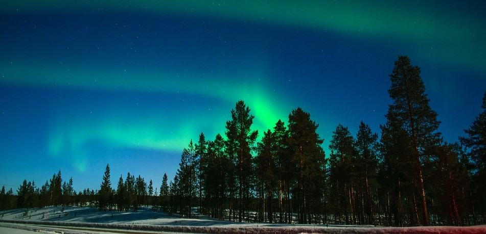 atural wonders in Europe - Northern Lights