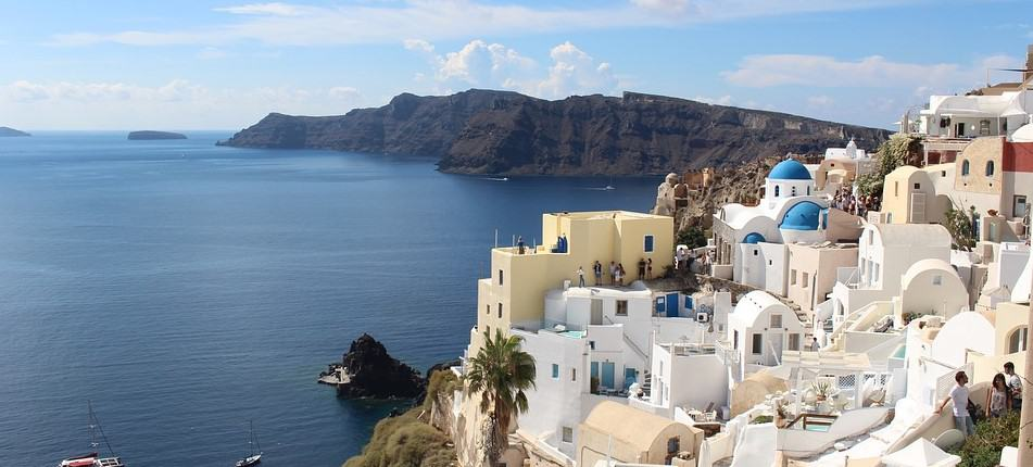 Santorini Greece - Natural wonders in Europe
