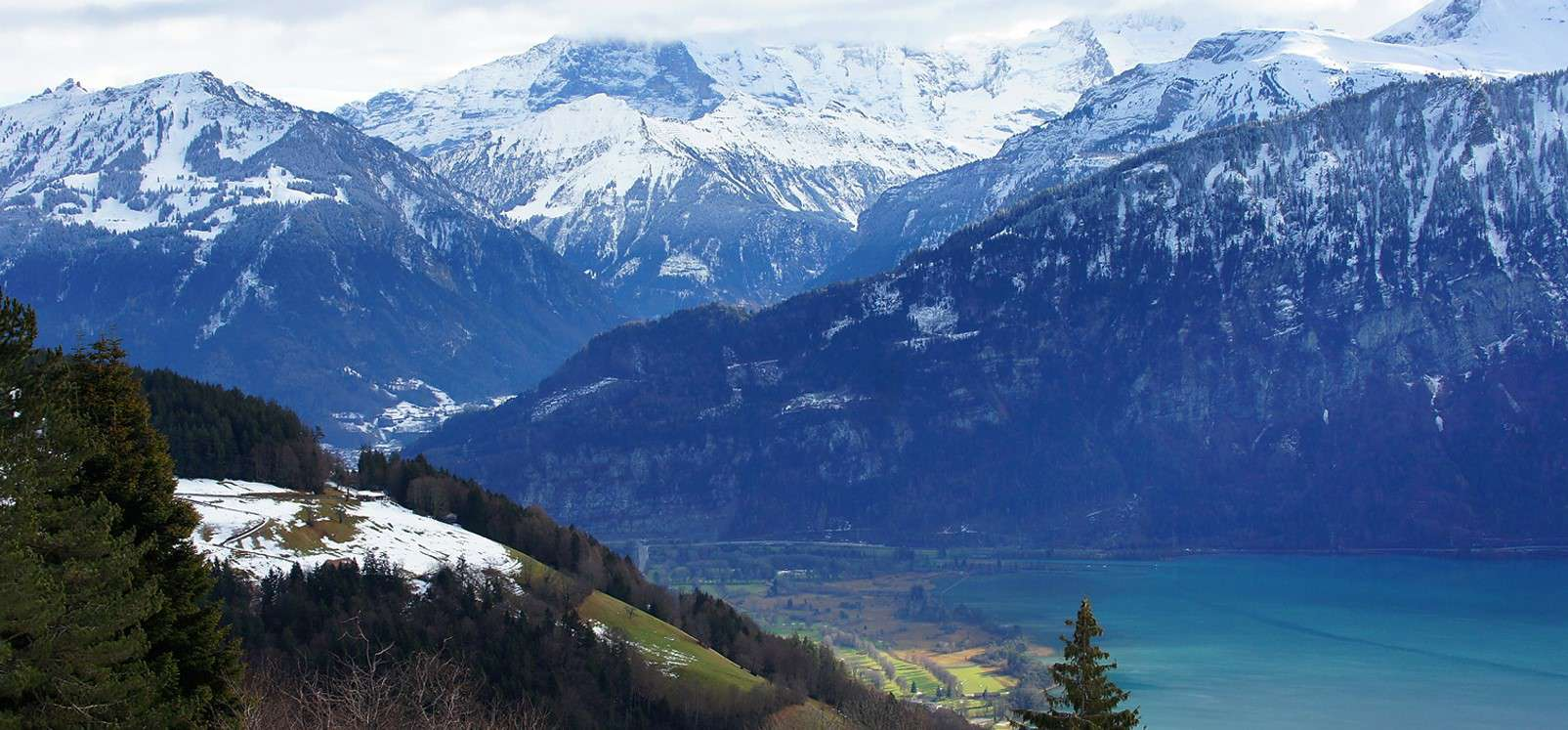Swiss Alps - natural wonders in Europe