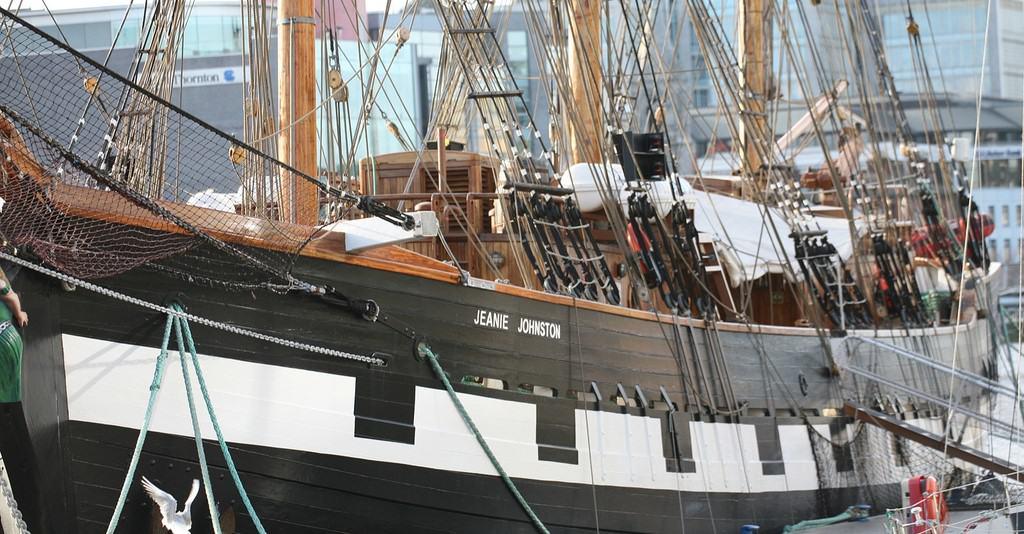 The Jeanie Johnston Ship