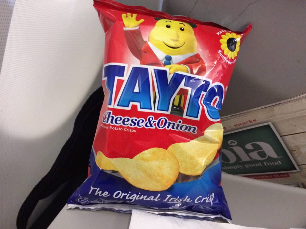 Tayto cheese & onion flavour