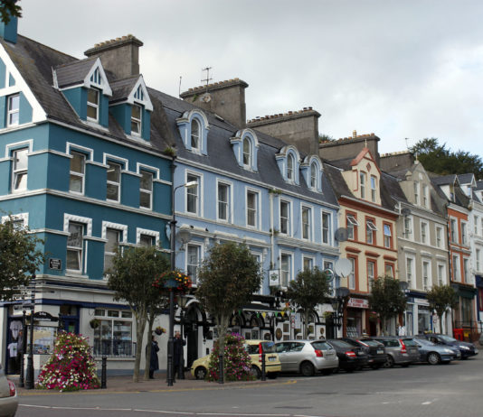Cobh County Cork Ireland - Town