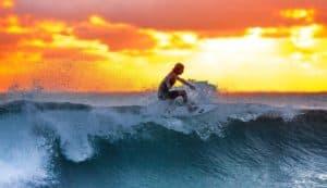 Surfing at Bundoran Sea Sessions Festival