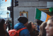 The history of the Irish Flag