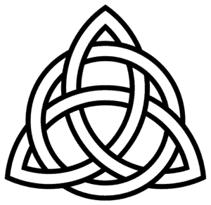 The Trinity Knot (Triquetra)