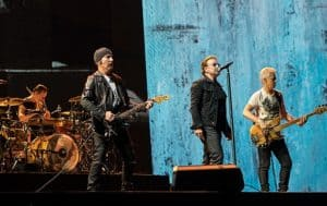 U2 Live Perormance - U2 Famous Irish Band