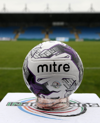 SuperCup NI -Mitre Ball