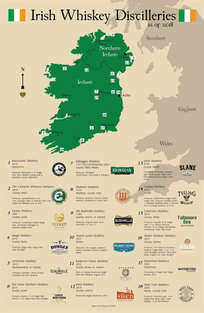 Whiskey map image