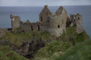 Dunseverick Castle, Antrim Castle