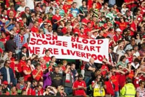 Liverpool Fans at an LFC match