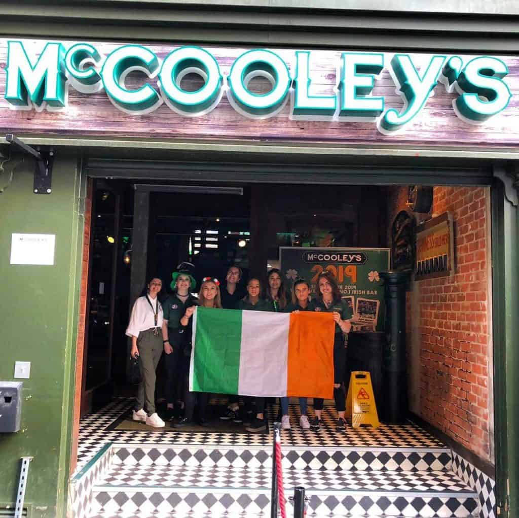 McColleys Irish Bar Liverpool