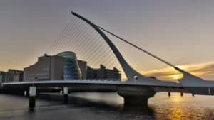 Irish Author Samuel Beckett Bridge