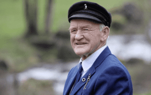 A portrait of the last King of Tory Island in Ireland