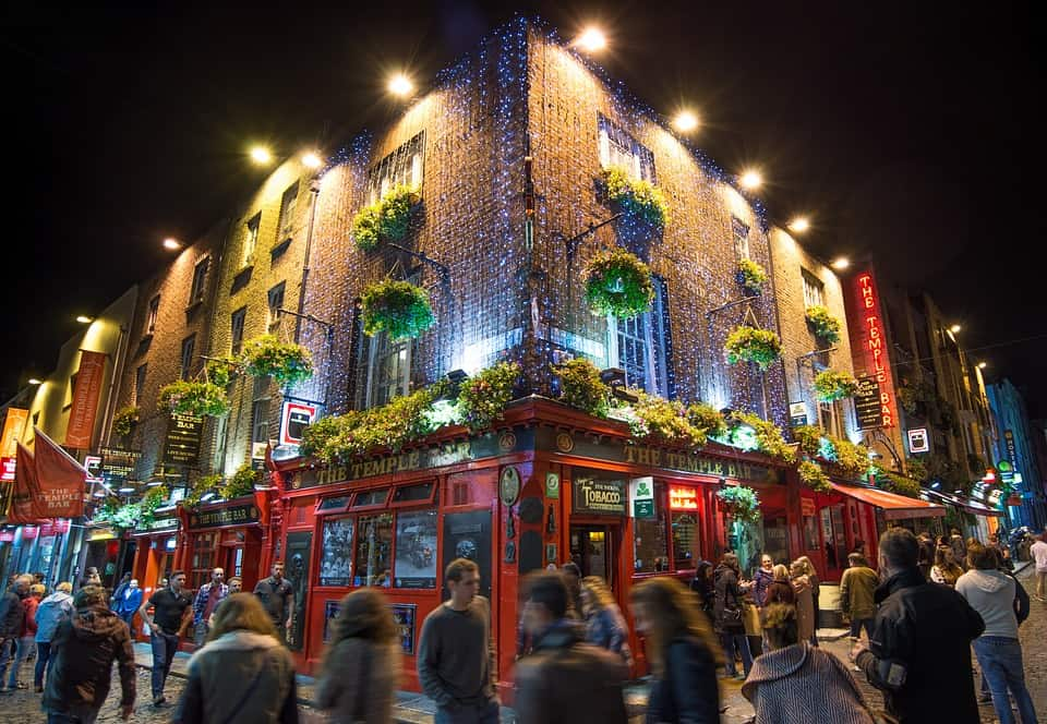 Temple Bar Area - Places to Stay in Dublin