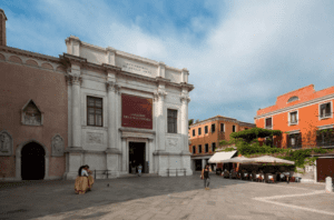 Exterior of Gallerie dell'Accademia located in Venice