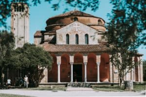 A photo of a cathedral on Torcello in Venice